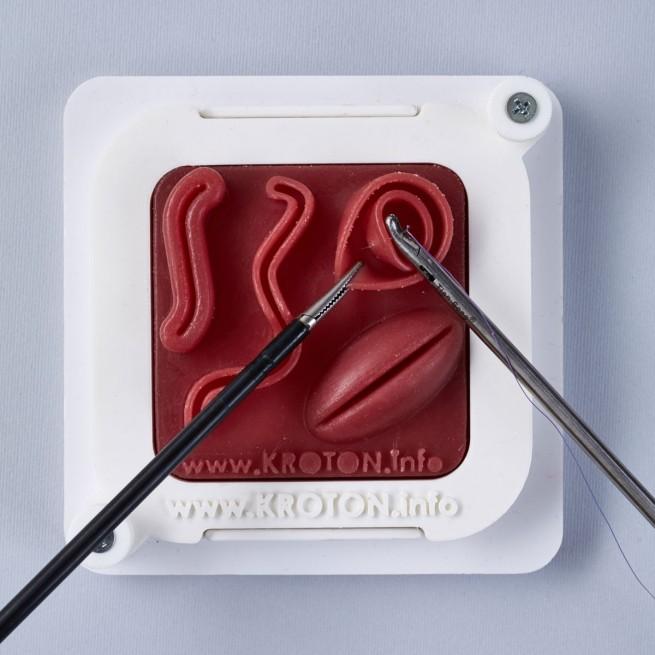 Nauka szycia chirurgicznego, zakładanie szwów laparoskopowo, podstawy szycia techniką laparoskopową