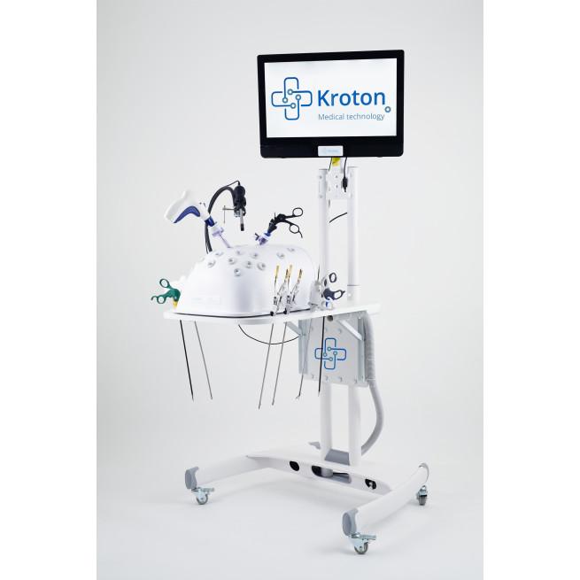 Trenażer laparoskopowy do kursów zaawansowanych, fantomy, symulatory